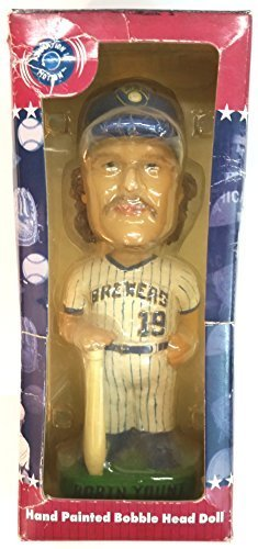 Robin Yount Milwaukee Brewer Bobble Head Cooperstown Collection 2001 Bobblehead