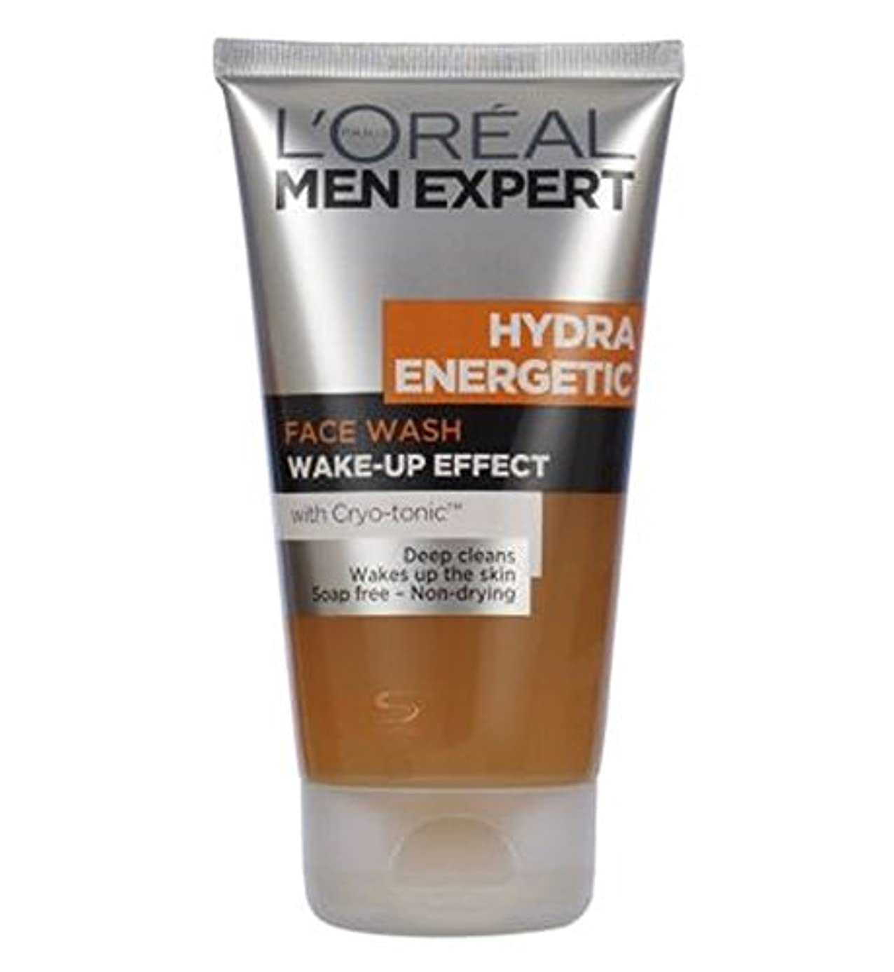 リングバック静める知性L'Oreal Men Expert Hydra Energetic Face Wash 150ml - ロレアルの男性の専門家ヒドラエネルギッシュな洗顔150ミリリットル (L'Oreal) [並行輸入品]
