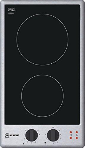 Neff N13BK20N0 Domino-Kochfeld N30 / 30 cm / 2 Heizelemente / Designrahmen in Edelstahl