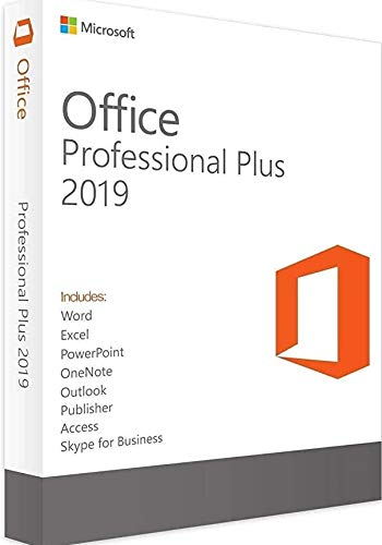 Office Professional 2019 1 PC (Lifetime, Download) for Windows 10 PC