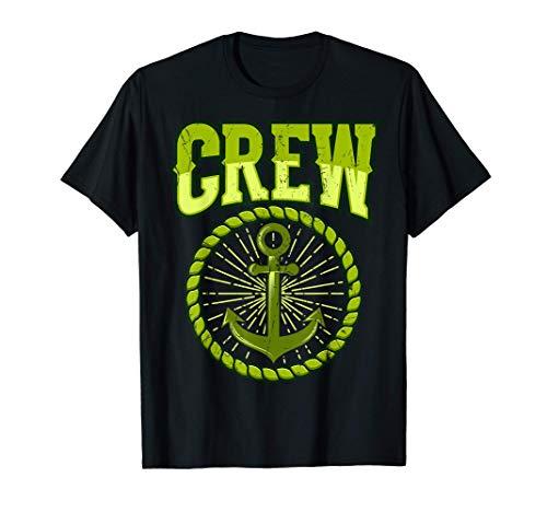 SAILING CREW Camiseta RETRO SAILING CREW Sailor Sailing Team Camiseta
