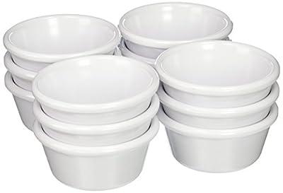 Winco Plain Ramekins, 6-Ounce, White