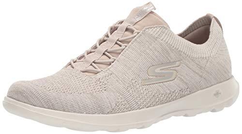 Skechers Women's GO Walk LITE - 15657 Shoe, Taupe, 11 M US