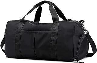 Travel Shoulder Handbag Gym Fitness Sports Bag Shoulder Crossbody Bag - Black