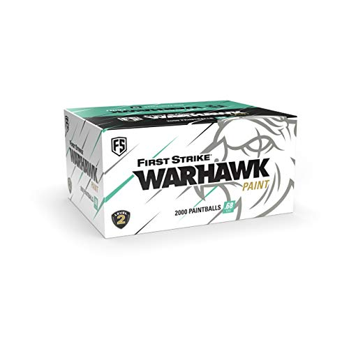 First Strike Warhawk 68 Cal Paintballs 2000CT  Yellow/Purple Shell  Yellow Fill