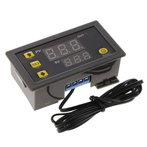BEVANNJJ ZYY Temperatura Relay W3230 Controlador Digital de 50~120 ° C Termostato 12V 20A