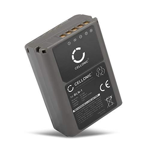 CELLONIC® Batería Premium Compatible con Olympus OM-D E-M1, OM-D E-M5 (Mark II), Pen E-P5, Pen-F (1140mAh) BLN-1 bateria de Repuesto, Pila reemplazo, sustitución