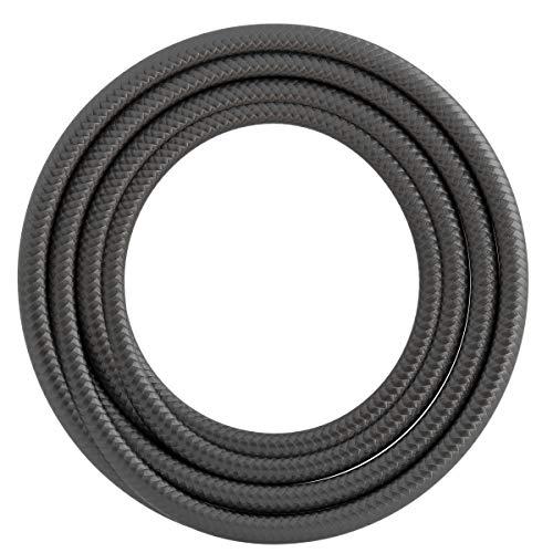 Calex textiel omwikkelde kabel 2x0,75mm2 3M metallic grijs, max. 250V-60W