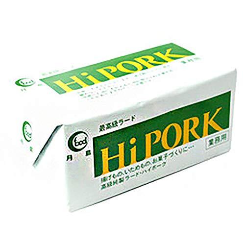 【 業務用 】 月島食品 HI PORK (ハイポーク) ラード 450g 油