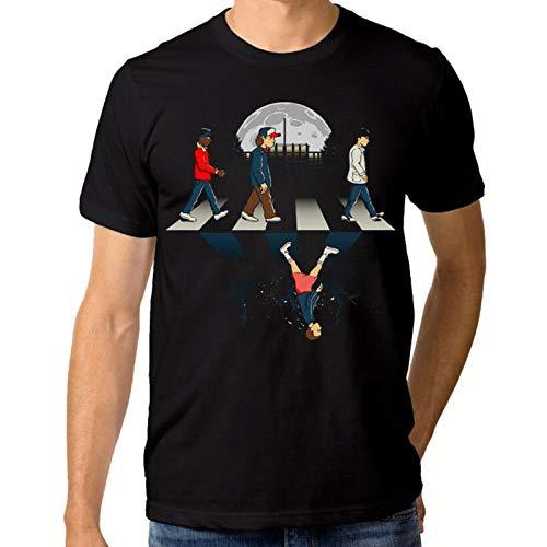 Phggdshfdf Stranger Things Abbey Road T-Shirt, Men's Women's