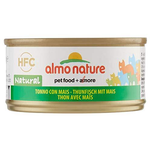 almo nature HFC Chat - Thon & Maïs - 24 x 70 g