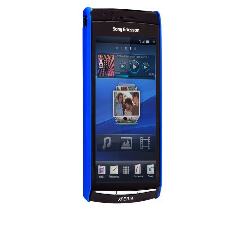 Barely There Cover per Sony Xperia Arc  - Blue (Rubber)