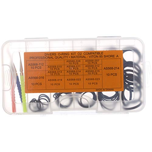 Where to buy Viton Shop O-ring Kit (140 count) with Brass picks ...