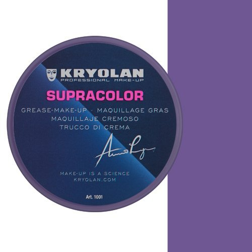 KRYOLAN Theaterschminke Supracolor Fettschminke Creme Make up 8 ml Farbe Helllila G56