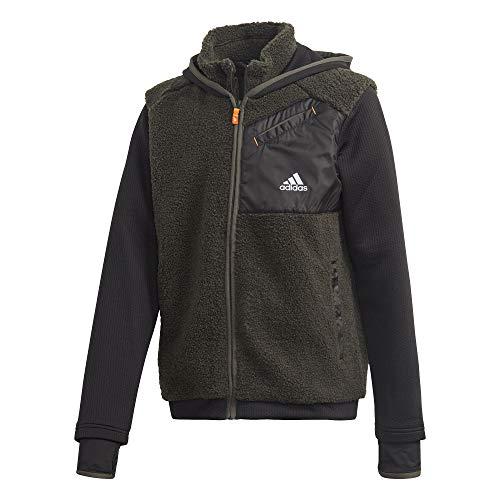 adidas Unisex Kinder Winter Sweatshirt, Legear/Black/Silvmt, 176