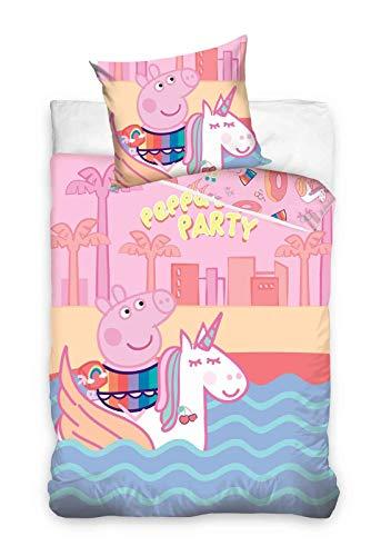 AHS Pepp Pig Kinderbettwäsche 140x200cm
