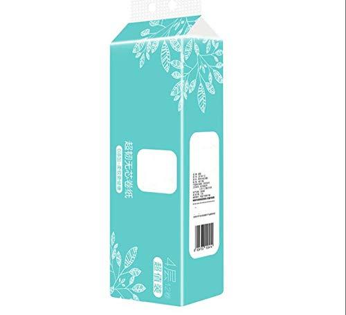 10 rollen toiletpapier 3-laags wc-papier zacht, hard toiletpapier servet Clean Touch handdoeken ongebleekt schone badhanddoek voor thuis