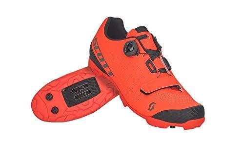 Scott MTB Vertec Boa Fahrrad Schuhe orange/schwarz 2021: Größe: 42