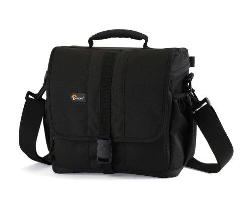 Lowepro Adventura 170 SLR-Kameratasche (für SLR mit angesetztem Standardobjektiv und 2 zusätzliche Objektive) schwarz