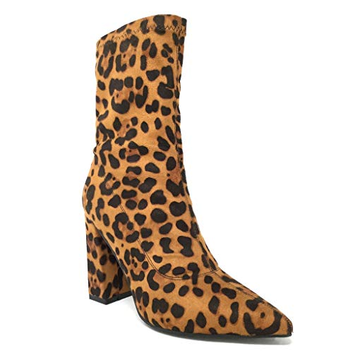 Angkorly - Damen Schuhe Stiefeletten Stiefel - Flexible - Böhmen - Biker - Schlangenprint - Modern...