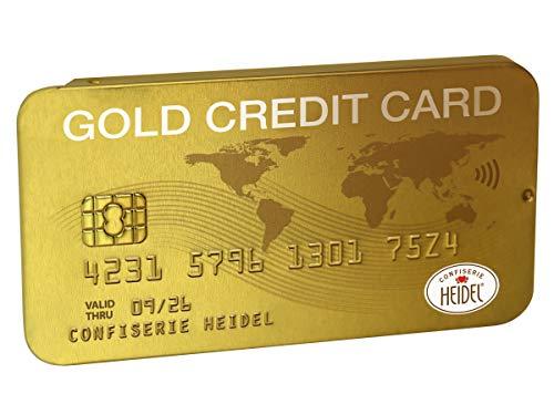 Confiserie Heidel Gold Kreditkarte, 30 g