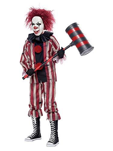 California Costumes Boys Nightmare Clown Child Costume