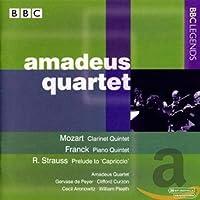モーツァルト:クラリネット五重奏曲/フランク:ピアノ五重奏曲/R. シュトラウス:カプリッチョ(アマデウス四重奏団/ド・ペイエ/カーゾン)(1960, 1966, 1971)