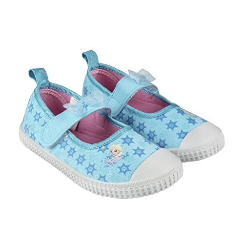 Frozen S0710851, Basket Mixte Enfant, Bleu, 29 EU