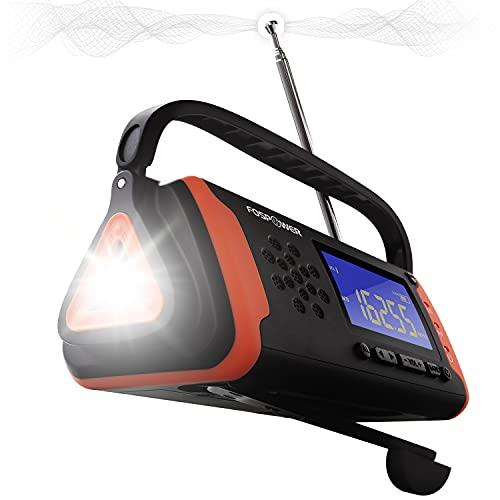 FosPower 4000mAh NOAA Emergency Weather Radio