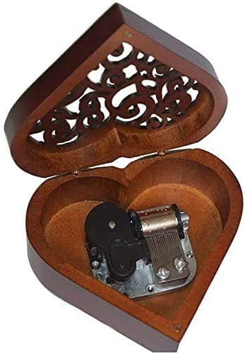 TYTZSM TZSJYYH Wooden Excellence Music Box Max 88% OFF Antique Engraved 18 Notes