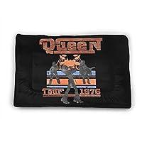 Queen クイーン ペットマット ペット用 大型 ドッグ ふわふわ 暖か ランチョンマット 敷き物 滑り止め 防水 丸洗い 動物防寒対策