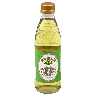 Rose's West India Sweetened Lime Juice, 12 Ounce (Pack of 2)