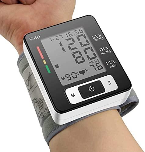 Monitor de presión arterial, brazo superior Monitor de presión sanguínea Monitor de hipertensión digital Detector de hipertensión automática Monitor de pulso de frecuencia cardíaca Pantalla LCD