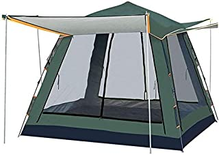 Image of MINGTIANHUIGENGHAO Ultralight 3-4 Person Double Layer Rainproof Tent for Outdoor Camping Hiking Hunting Fishing Travel Picnic Tourist Wild Camping Couple