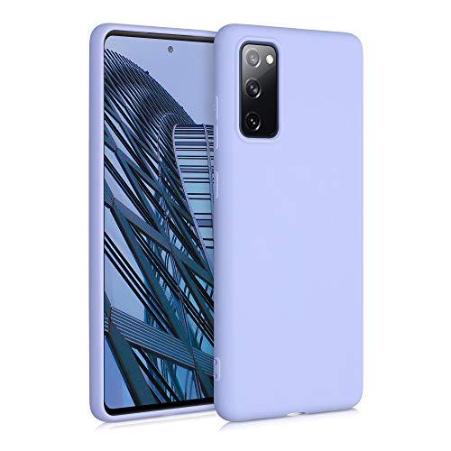 kwmobile Hülle kompatibel mit Samsung Galaxy S20 FE - Hülle Silikon - Soft Handyhülle - Handy Hülle in Pastell Lavendel