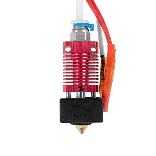 1,75 mm Extruder 0,4 mm Düsen-Hotend-Kit Aluminium-Wärmeblock für 3D-Drucker Ender-5 Plus 3D-Druckzubehör