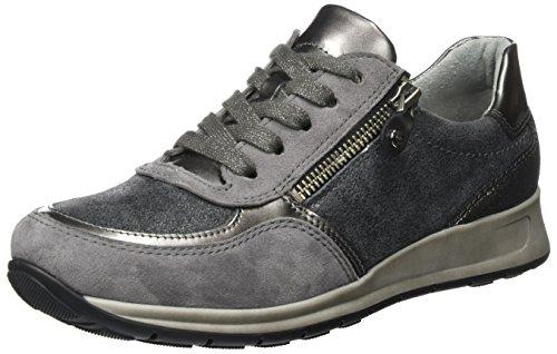 ara Osaka 12-44565, Sneaker, Grau (zinn/titan,crow/fucile 08), 39 EU (6 UK)