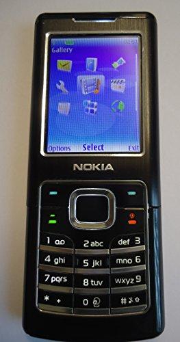 SIM Frei Unlocked Nokia 6500 Classic (Schwarz) Mobil Telefon