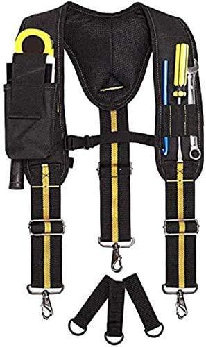 Tool Belt Braces, Heavy Duty Electricians Tool Belts, High Performance Work Dispenser, Braces Loop with Adjustable Straps, Universal