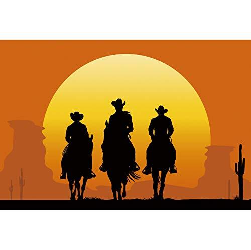 Haoyiyi Hintergrund, Wildwesten Country, Cowboy, Herdsmen-Hintergrund, Fotografie, Pferd, Cowboy, Babyparty, Kultur, Reisen, Herbstveranstaltungen, Fotos, Dekoration, Schießen Poster-Tapete