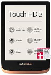PocketBook e-Book Reader 'Touch HD 3' (16 GB Speicher; 15,24 cm (6 Zoll) E-Ink Carta Display; SMARTlight; Wi-Fi; Bluetooth) in Kupfer