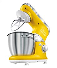 Sencor Food Processor - 4 Liter Bowl, 1.6 kg, Yallow, STM3626YLMEG2,Stainless Steel