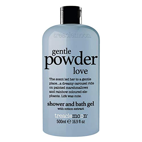 Treaclemoon bath and shower gel gentle powder love 500 ml/Englische Version