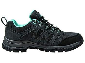 riemot Chaussures de Randonnée Basses Femme, Chaussure de Marche Trekking Montagne Sport Chaussures de Trail Running Extérieure Antidérapant Semelle Impermeable Légères, Femme Vert 38 EU