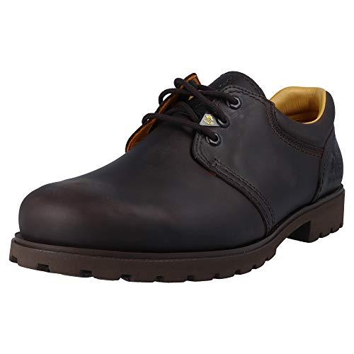 PANAMA JACK Basic 02 C2, Chaussures à lacets homme - Nappa Grass Marron - 40 EU