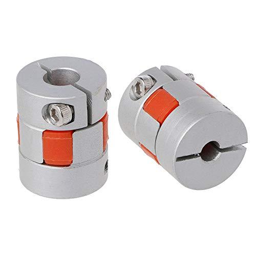 5x10mm CNC Motor 3D PrinterJaw Shaft Coupler 5mm-10mm Flexible Coupling
