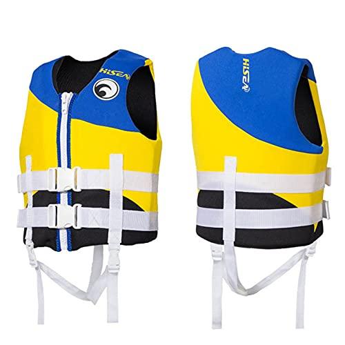 Chaquetas Y Chalecos Salvavidas Salvavidas Chaleco Flotador para Barcos para NiñOs Bebes Infantil Kayak Flotabilidad Algodón Caucho oxibuteno,Blue,XL