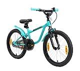 LÖWENRAD Bicicleta Infantil para niños y niñas a Partir de 6 años | Bici 20' Pulgadas con Frenos | Turquesa