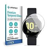 smartect Cristal Templado para Móvil Samsung Galaxy Watch Active 2 [2 Unidades] - Protector de...