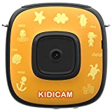 Dragon Touch 子供用カメラ 1080P フルHD 500万画素 30メートル防水 アクションカメラ 2インチスクリーン マイク内蔵 キッズカメラ 子供プレゼント USB充電 録画機能 日本語取り扱い説明書付き かわいいカメラ イエロー